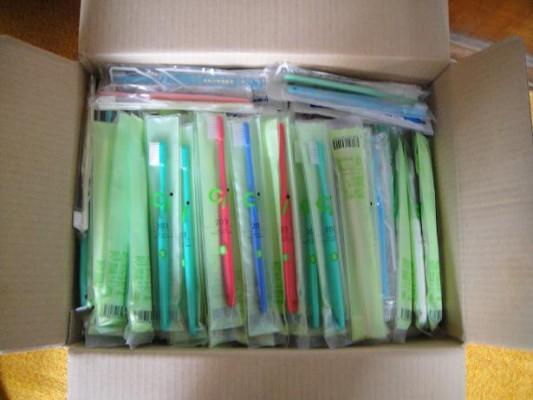 救援歯ブラシ