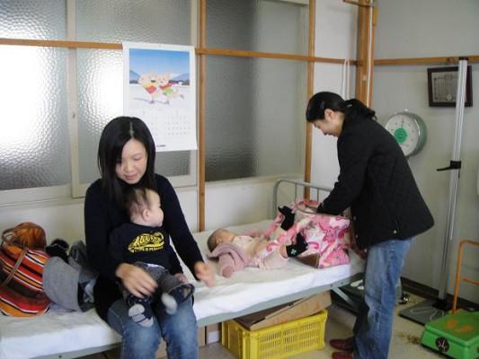 三木町乳児健診