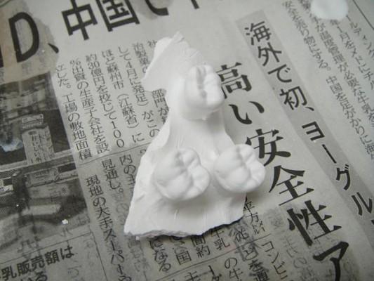 6歳臼歯模型3