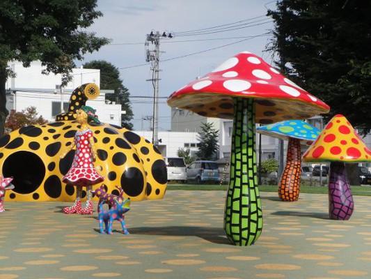 十和田市街