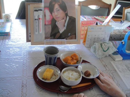 朝井さん食事