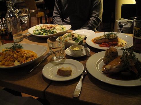 フィンランド晩餐